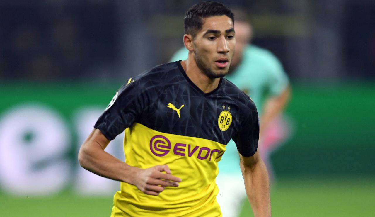 Calciomercato Juve, suggestione Hakimi Real madrid