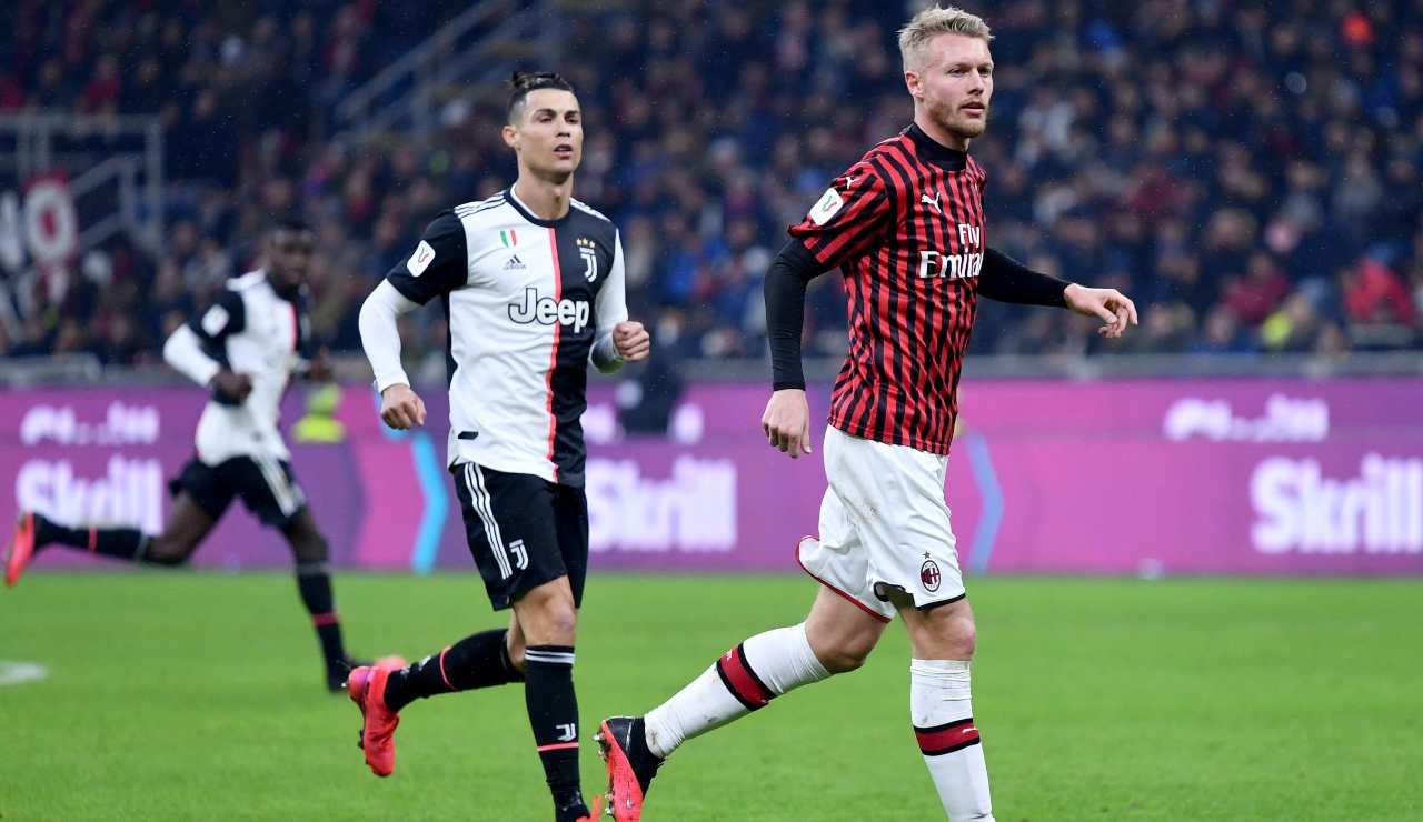 Calciomercato Milan, Kjaer riscatto