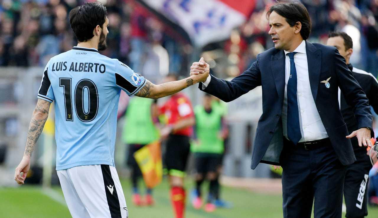 Lazio, Barcellona su Luis Alberto