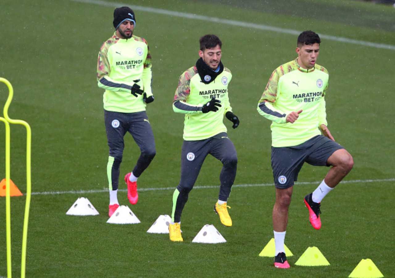 Premier League allenamento