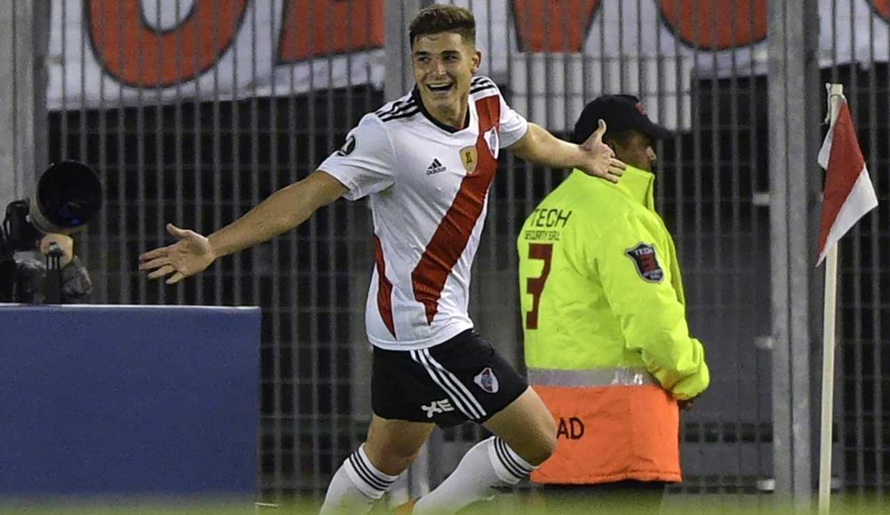 Juventus Higuain Julian Alvarez RIver Plate