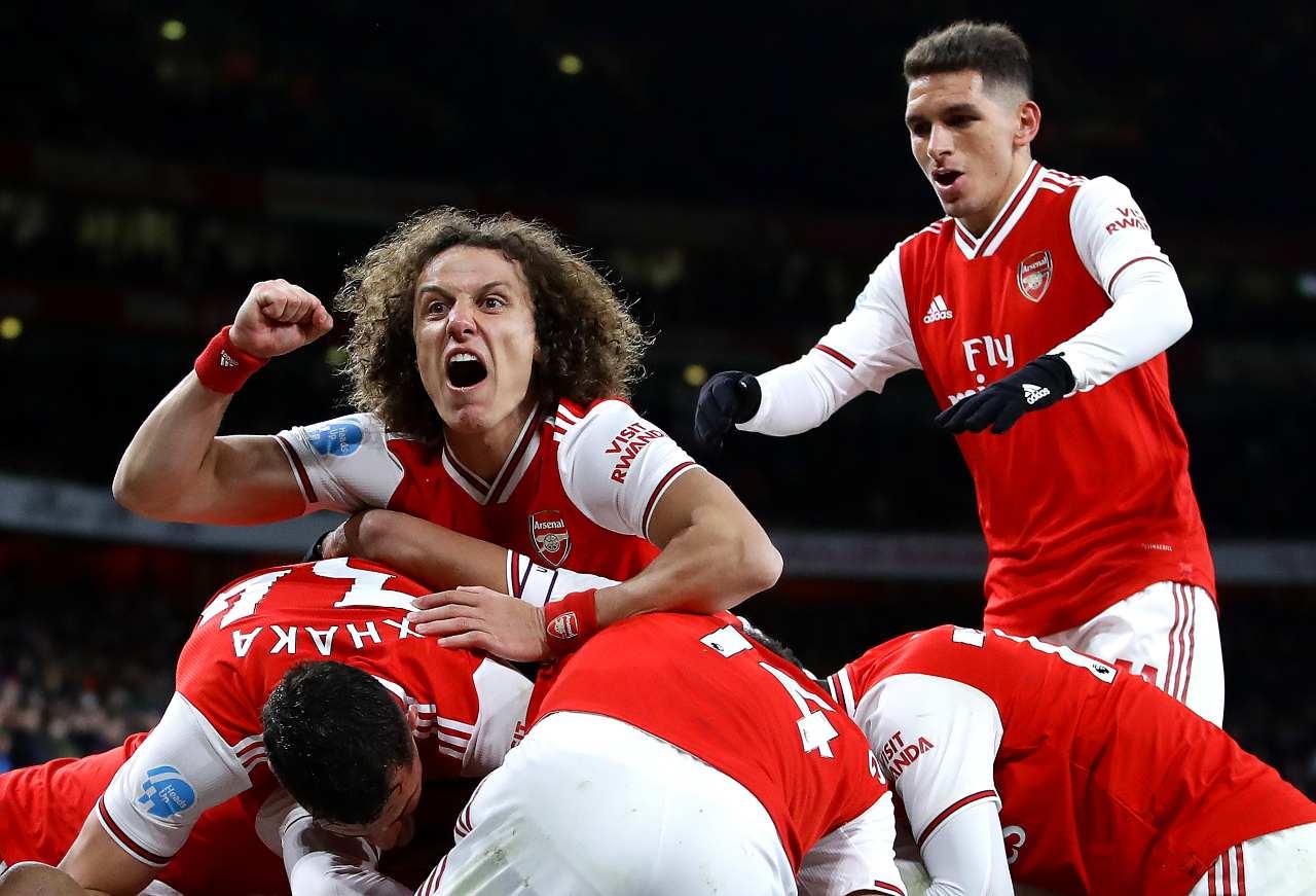 Calciomercato Arsenal David Luiz