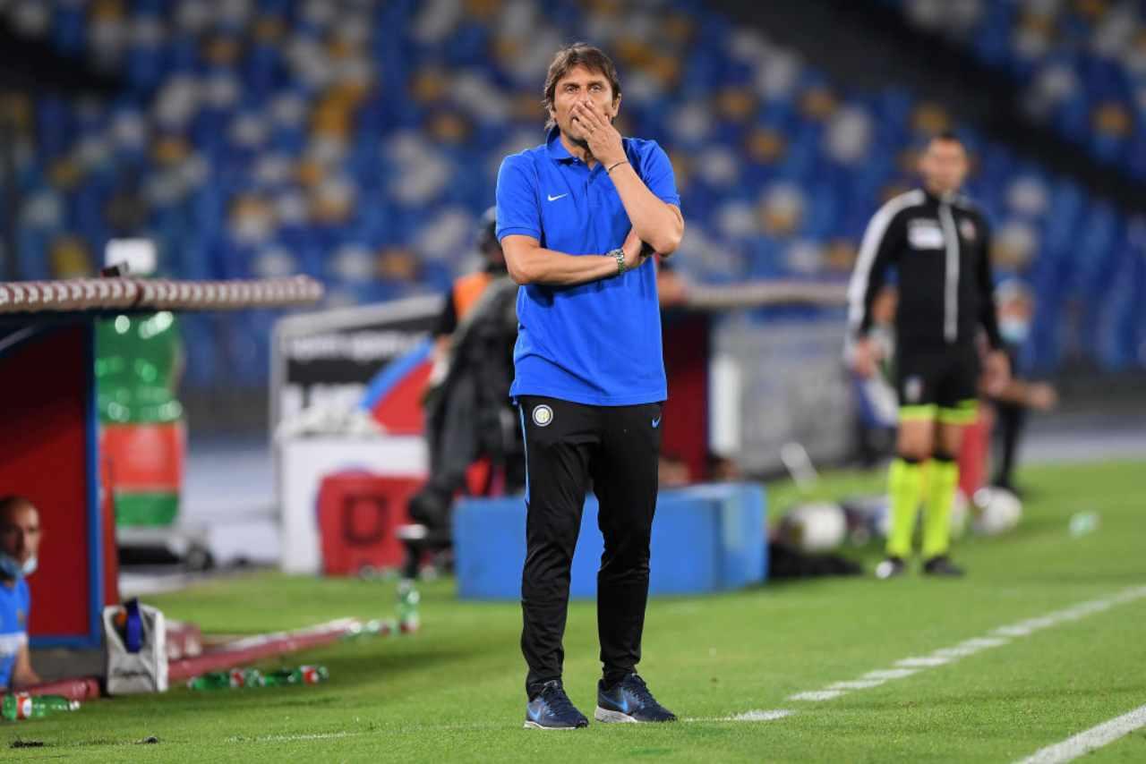 Conte Inter Dzeko