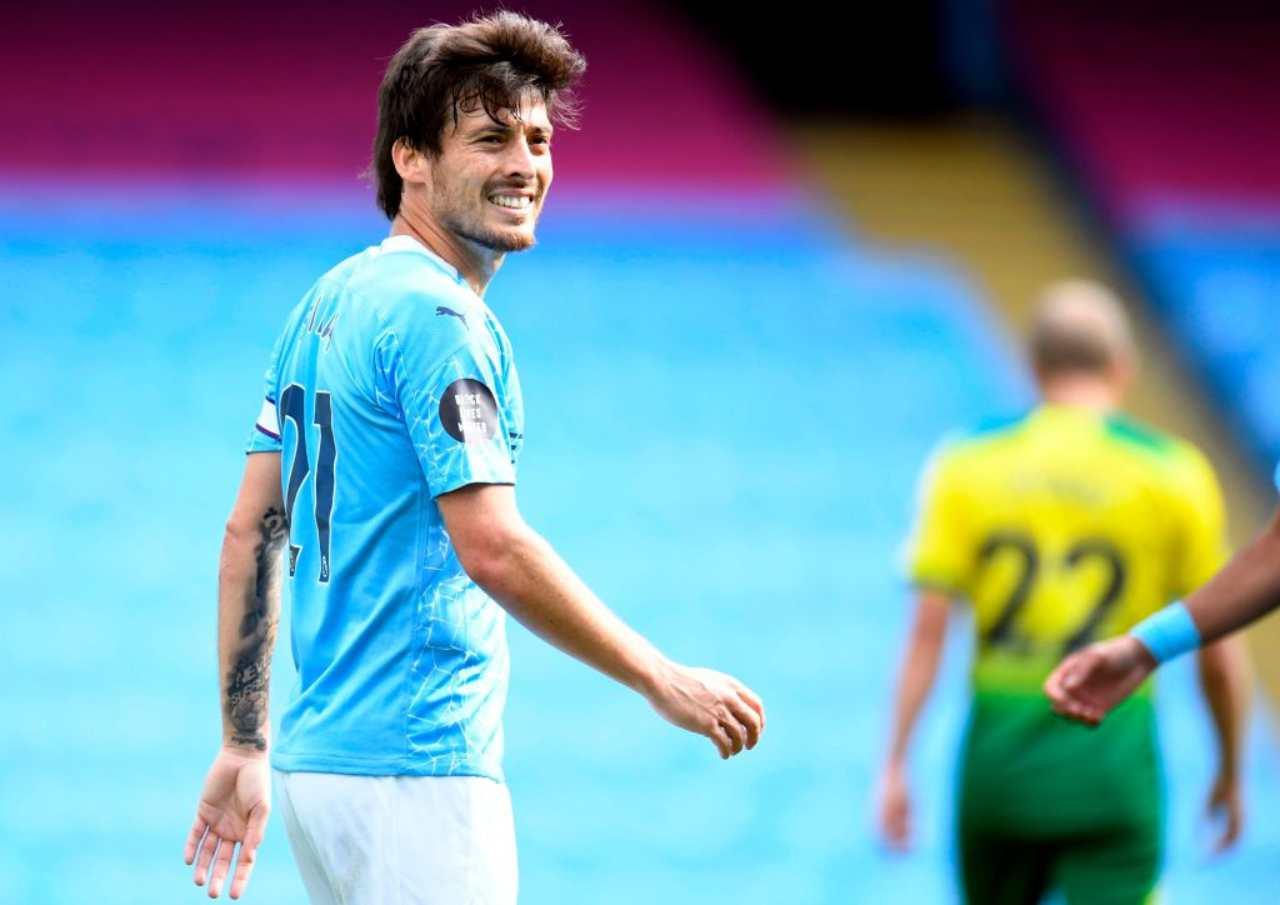 Calciomercato Milan, duello con la Lazio per David Silva: contatti in corso