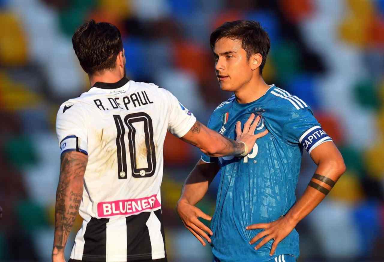 Notizie Lazio - Udinese, De Paul: