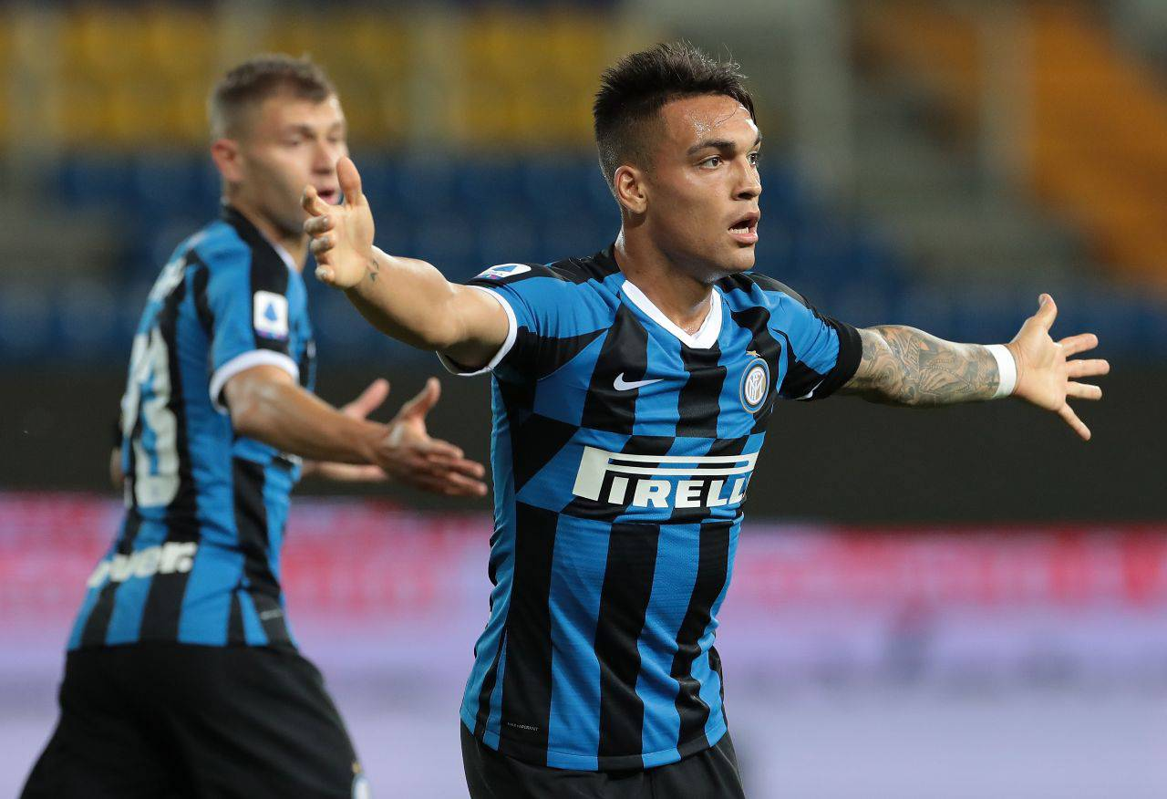 Inter Lautaro Barcellona Messi