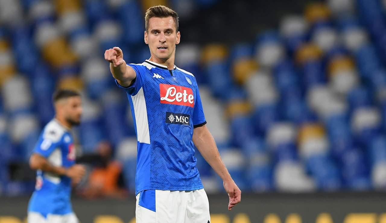 Juventus Dzeko Milik Napoli Roma