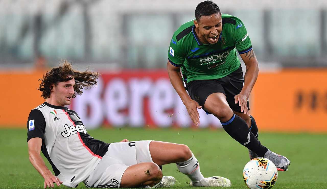 Juventus Rabiot Lacazette