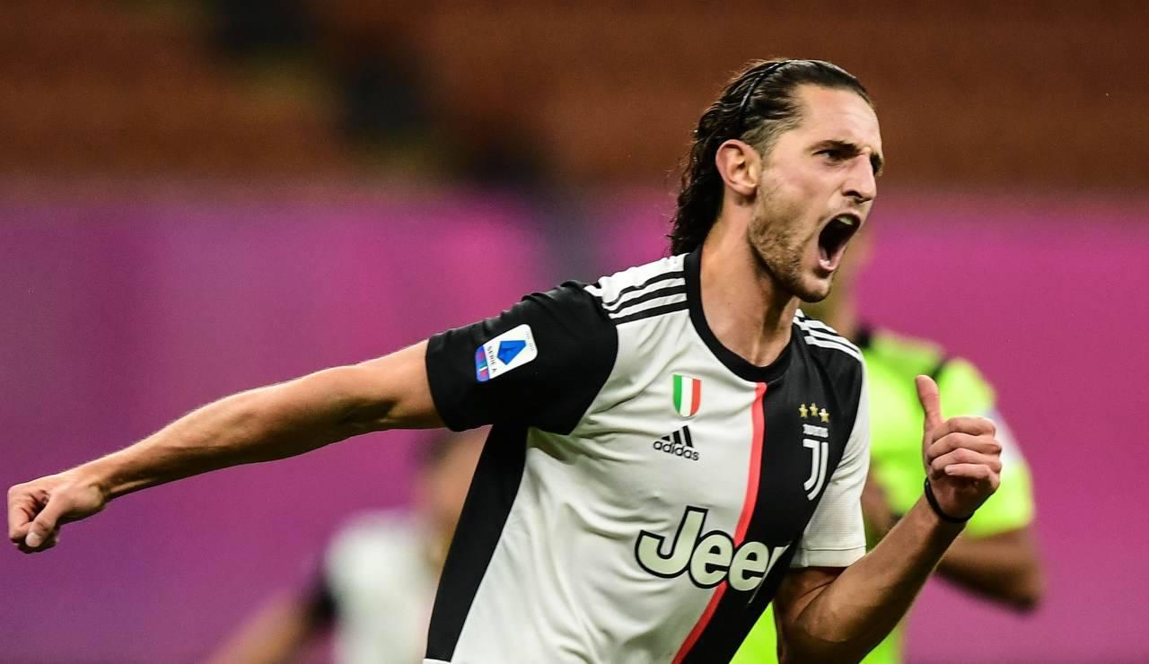 Juventus Rabiot Lacazette Arsenal