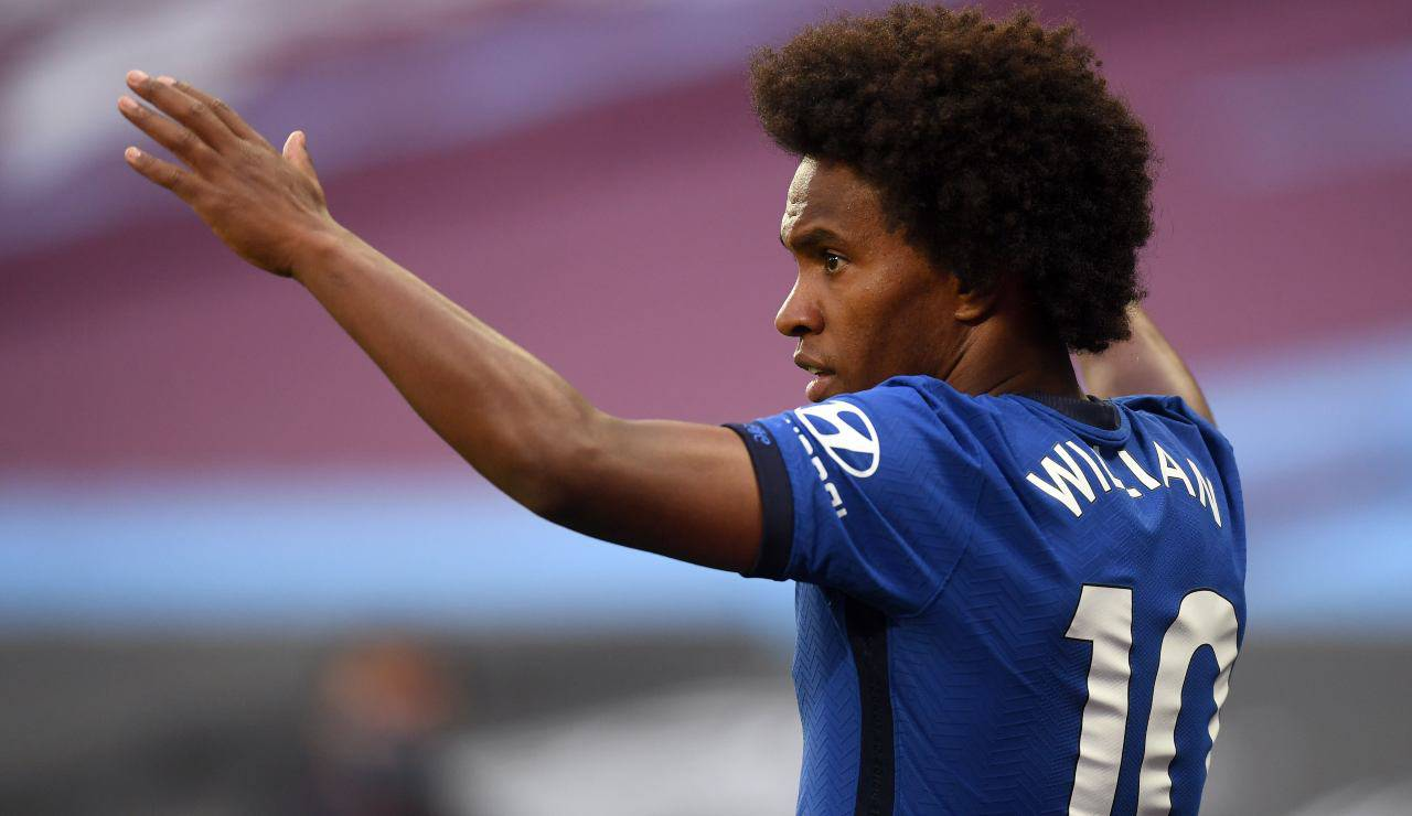 Willian Chelsea Juventus