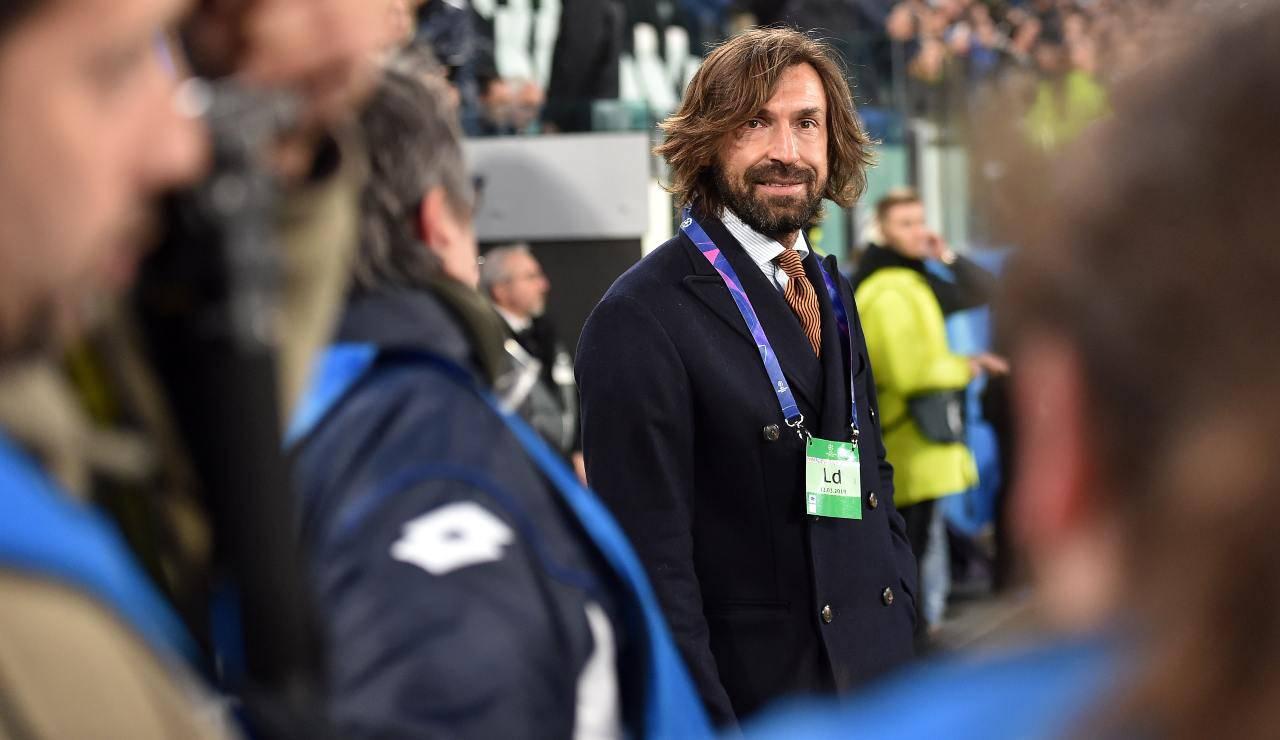 Juventus Pirlo allenatore juve