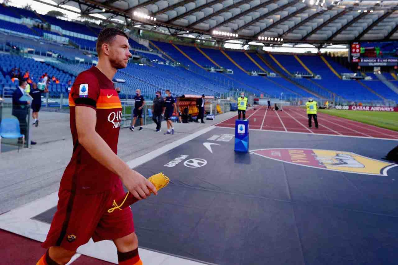 Juventus Dzeko Roma