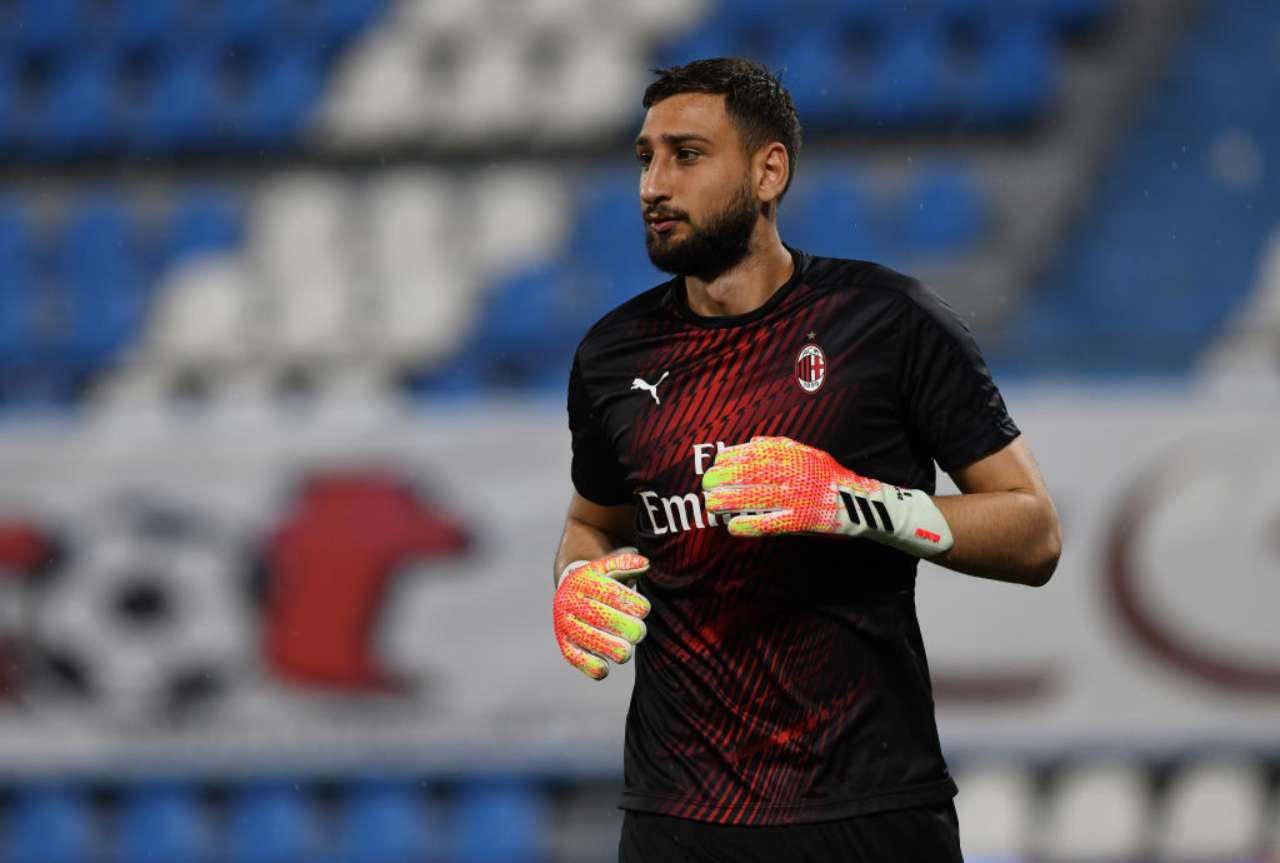Parma Milan Maldini Donnarumma rinnovo Ibrahimovic Mandzukic