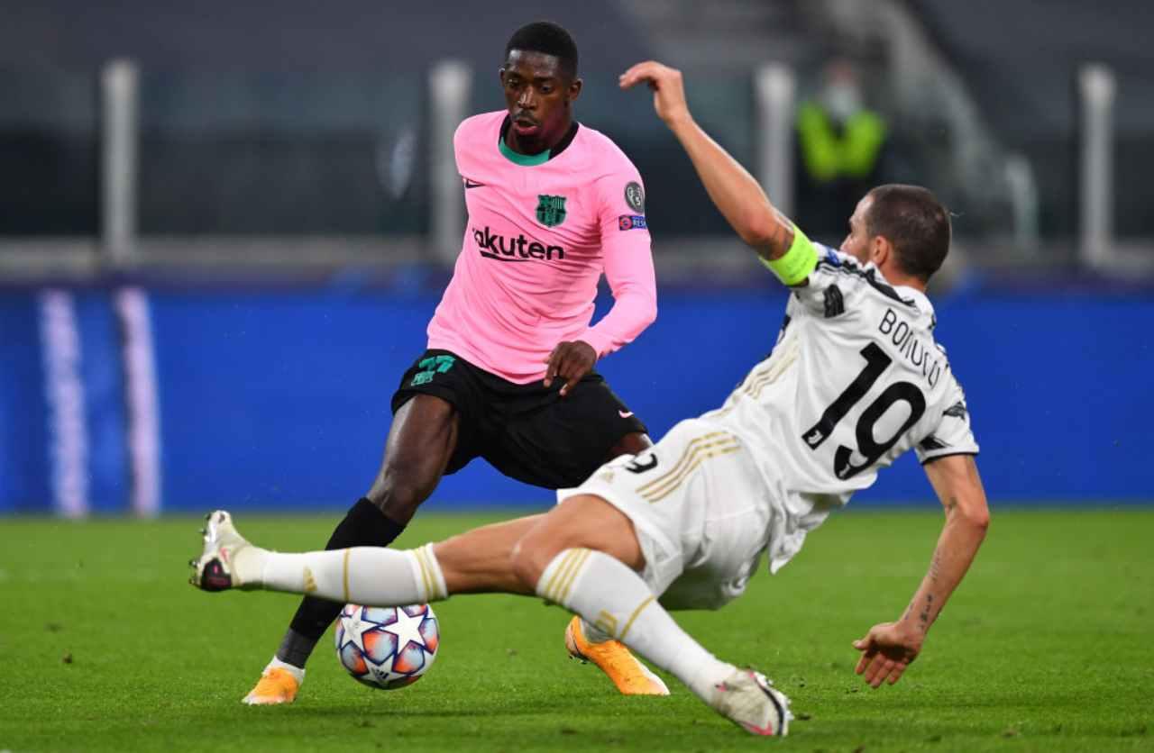 Dembélé calciomercato Juventus