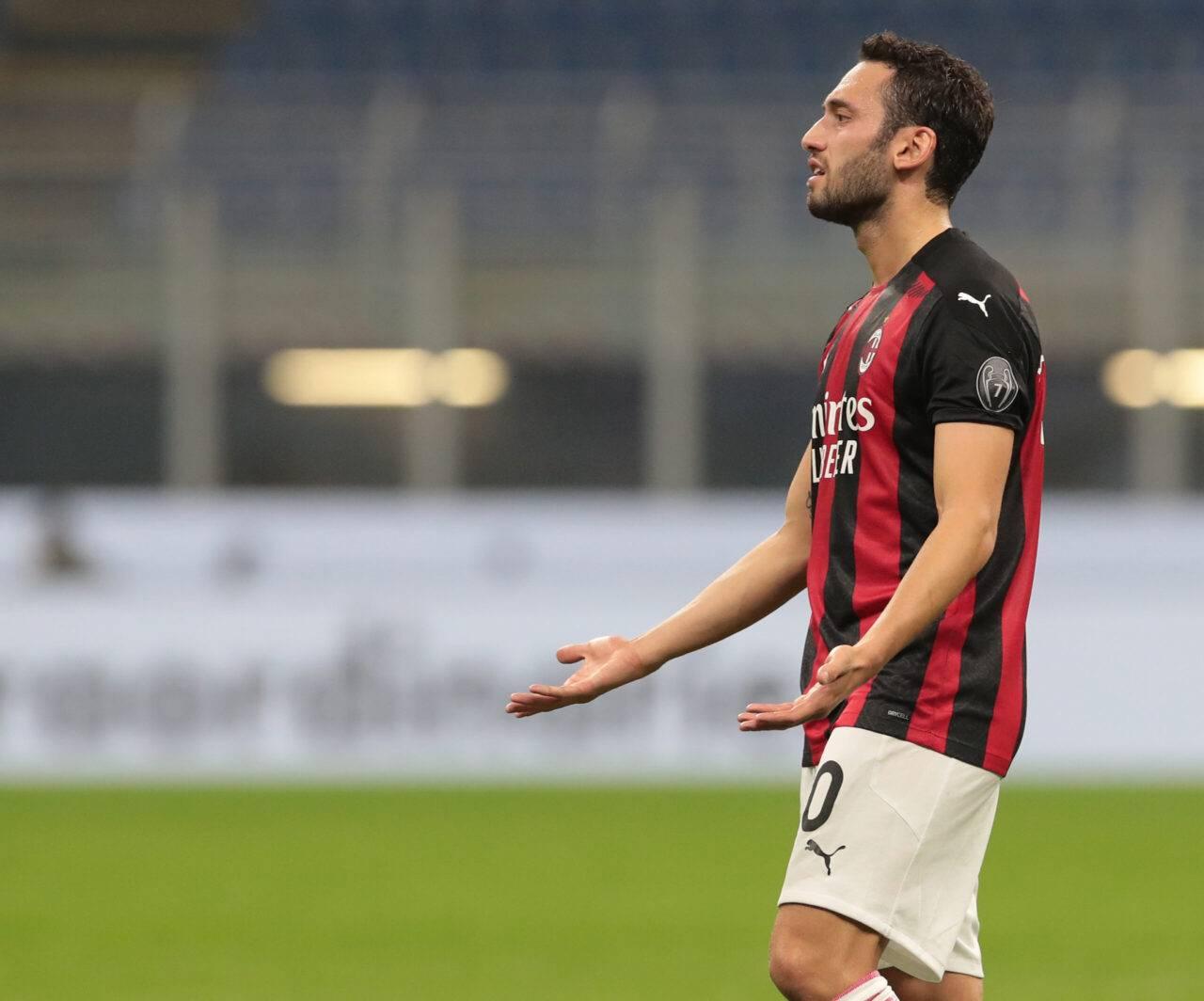 Calhanoglu calciomercato Milan Napoli Demme