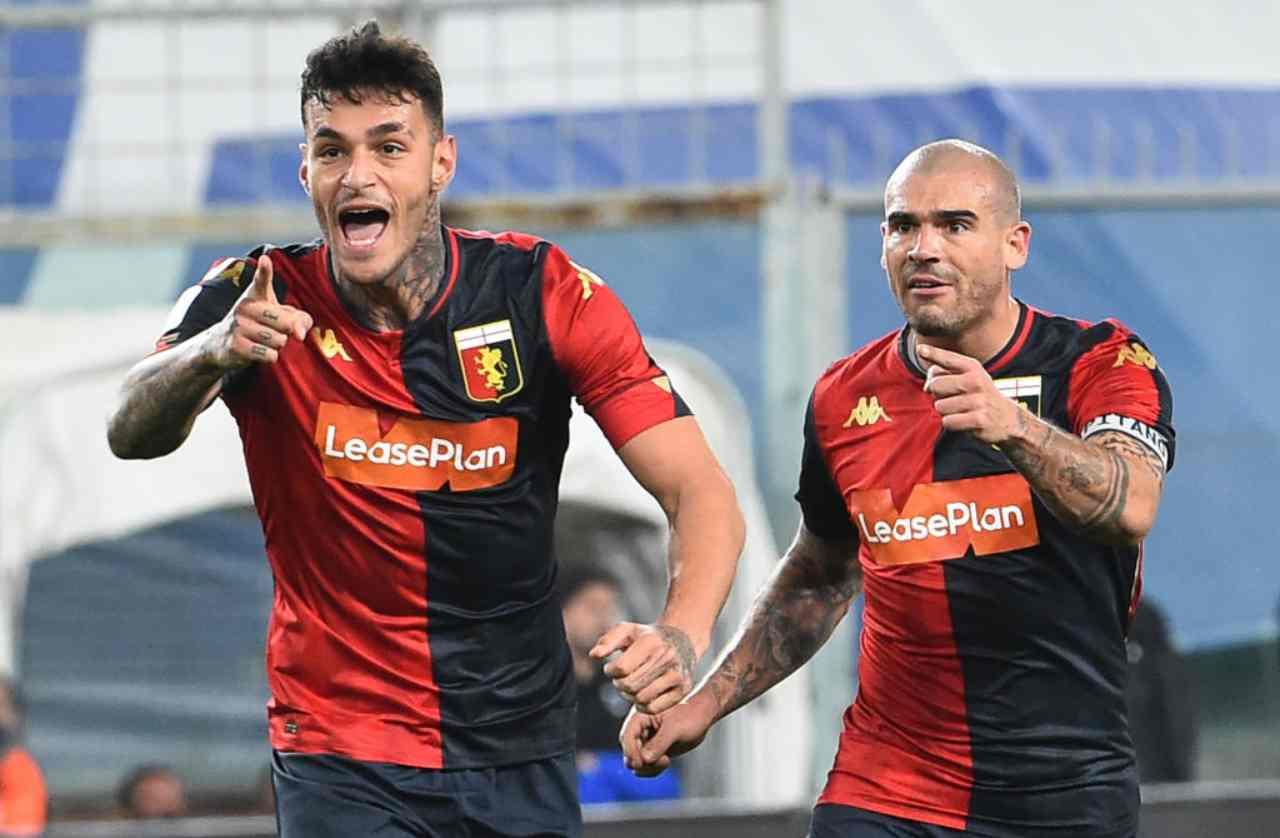 Coppa Italia, Sampdoria-Genoa 1-3: Scamacca regala il derby ai rossoblu