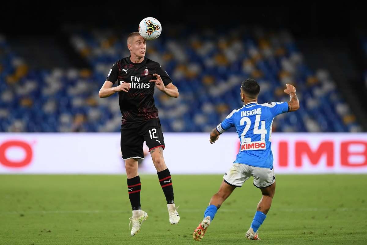 """Napoli-Milan, Maldini: """"Calhanoglu? Bisogna essere contenti in due"""""""