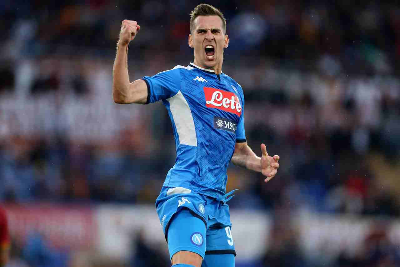 Milik (getty images)