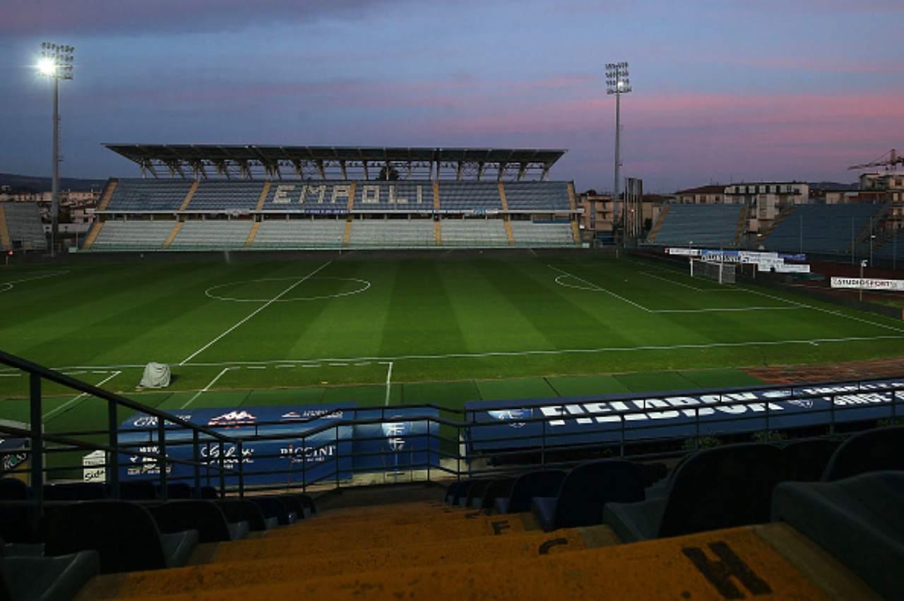 Castellani, stadio Empoli (Getty Images)