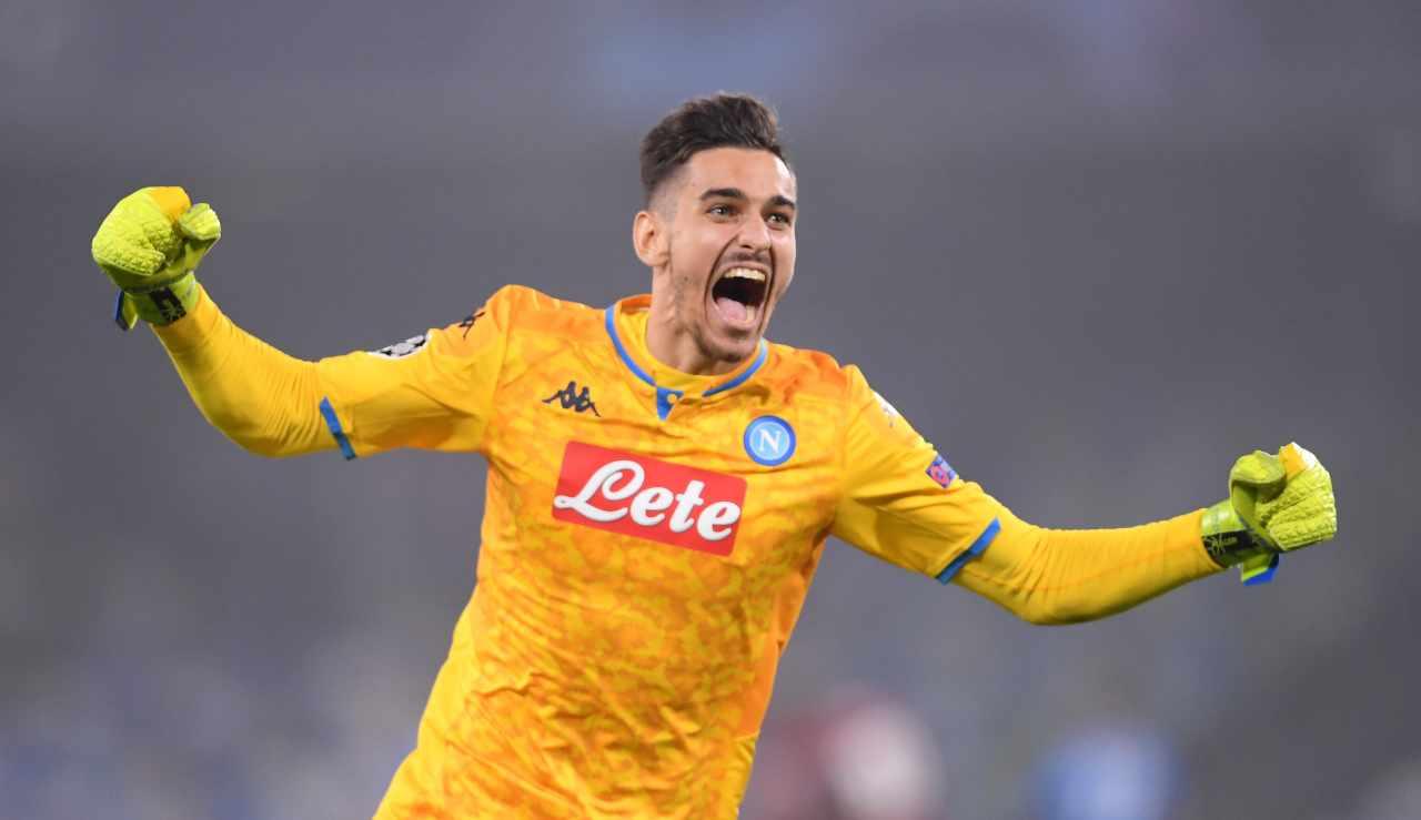 Calciomercato Napoli, c'è la fila per Meret | Juventus ma non solo