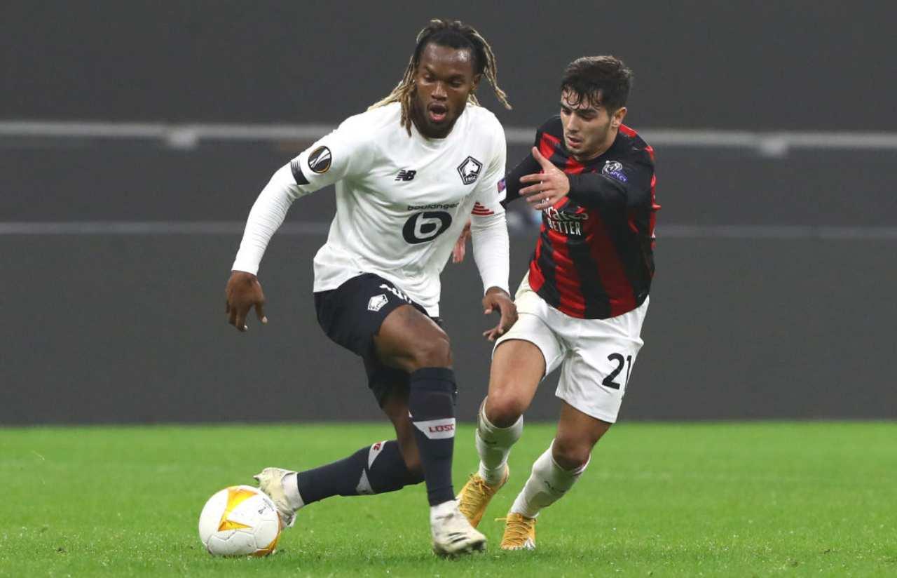 Roma Mourinho Renato Sanches Lille