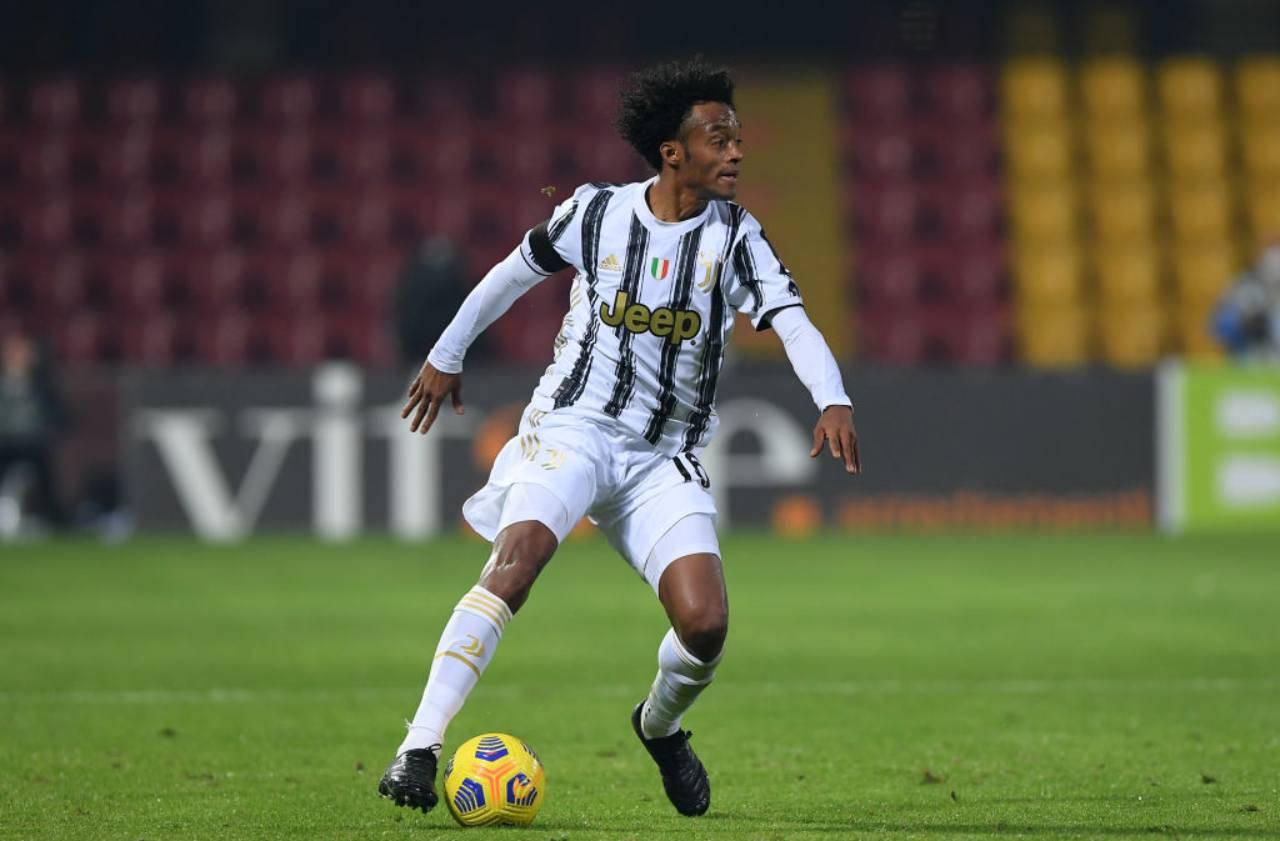 Cuadrado Juventus non convocato
