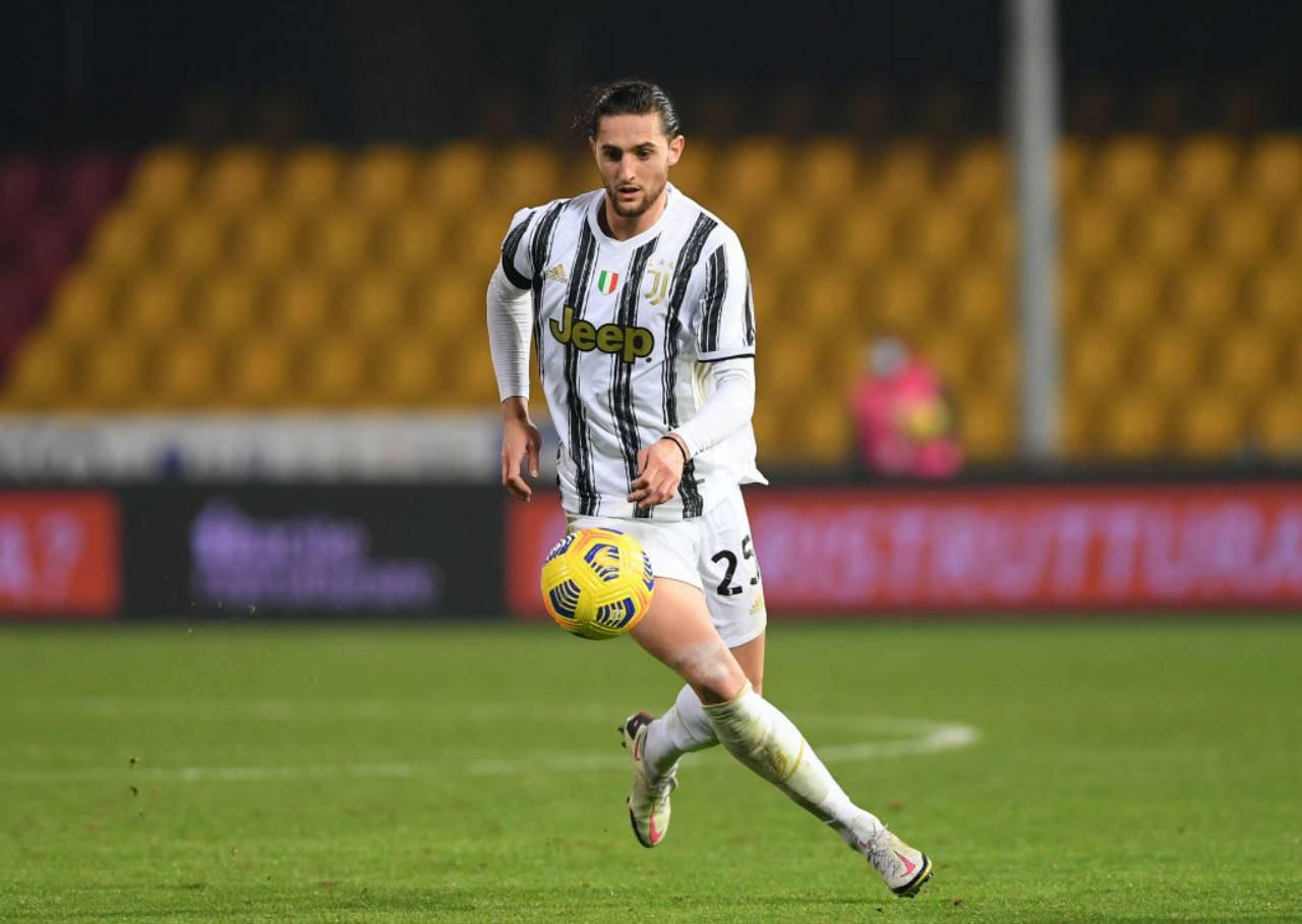 Juventus Rabiot cessione