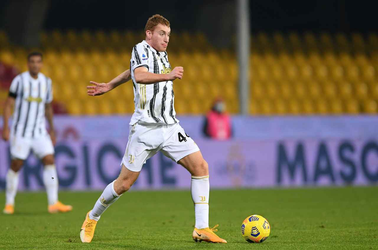 "Juventus, Kulusevski 'contro' Pirlo | ""Cambio sempre ruolo"""