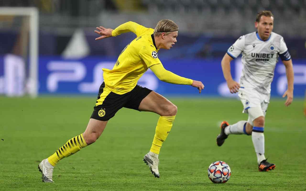 Haaland Juventus Borussia Dortmund