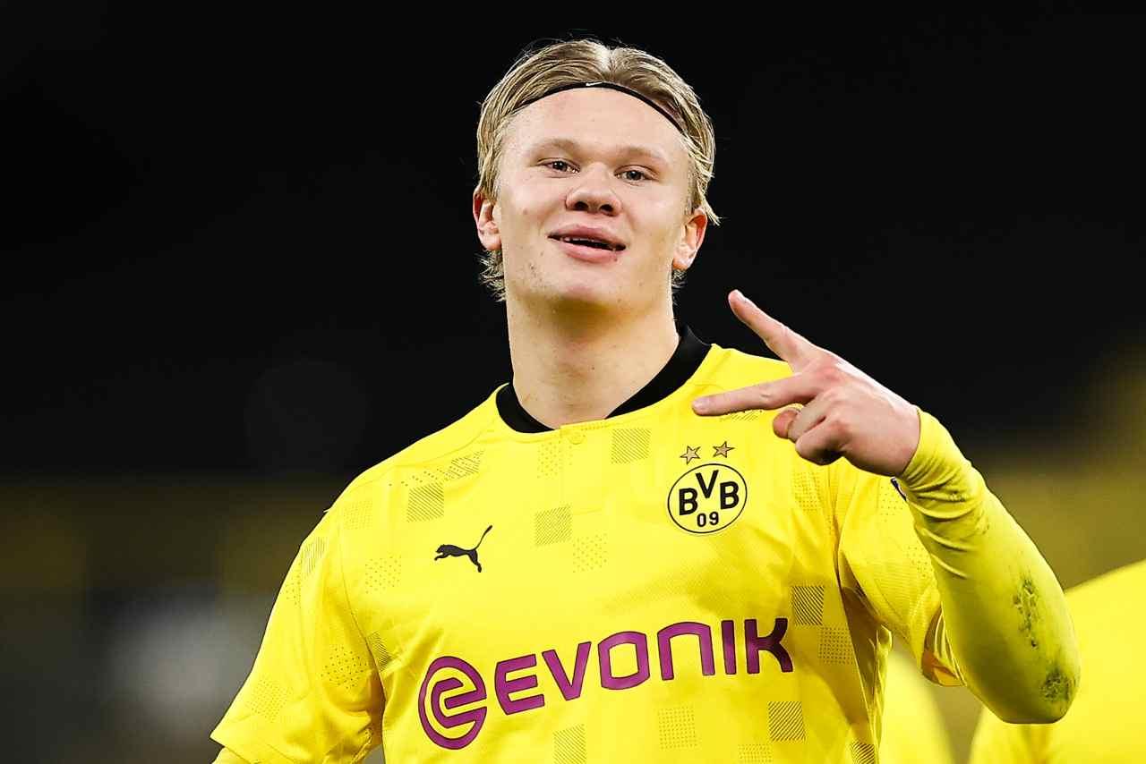 Juventus Haaland Borussia Dortmund Dybala McKennie Demiral