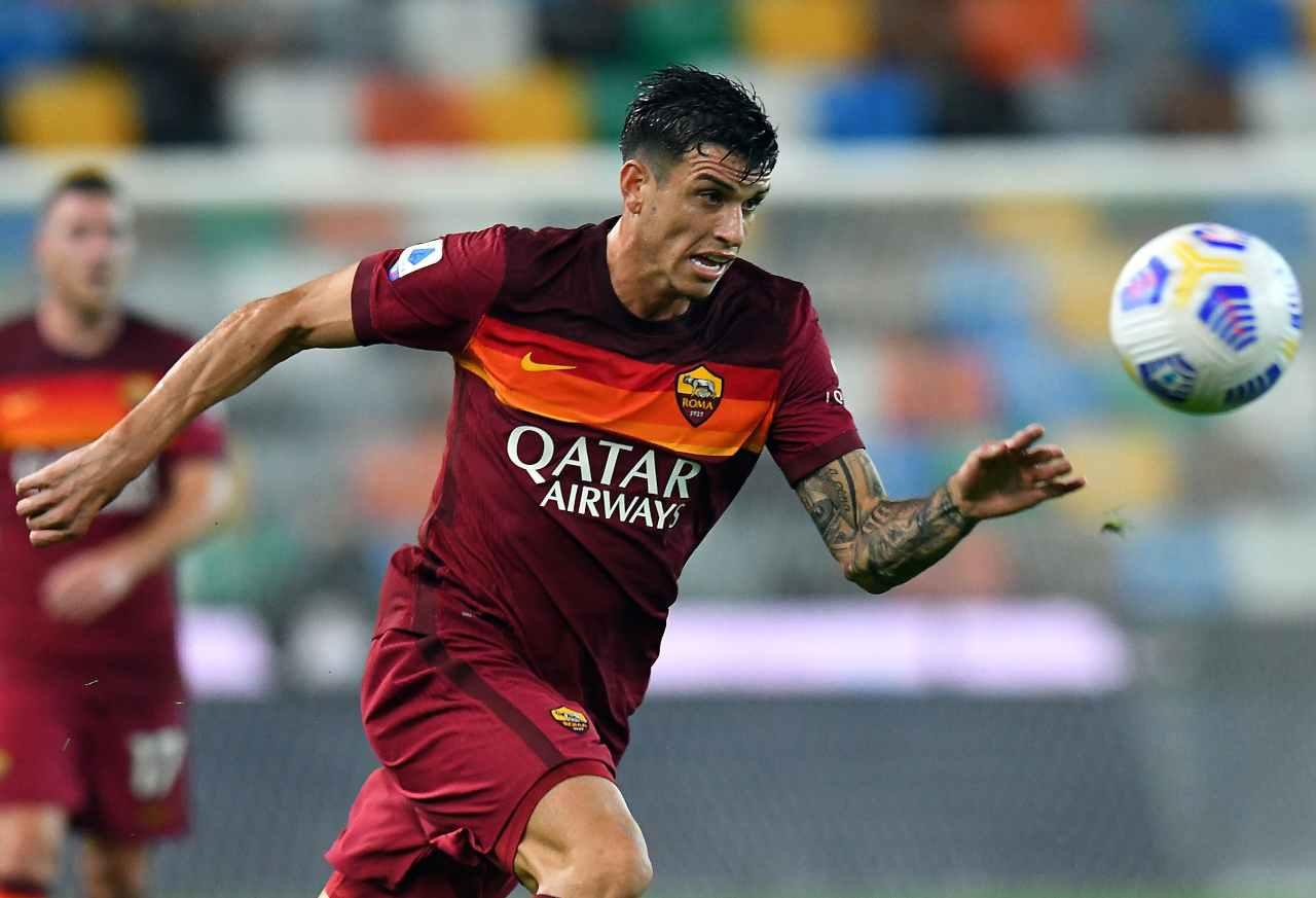 Roma Lazio Ibanez infortunio