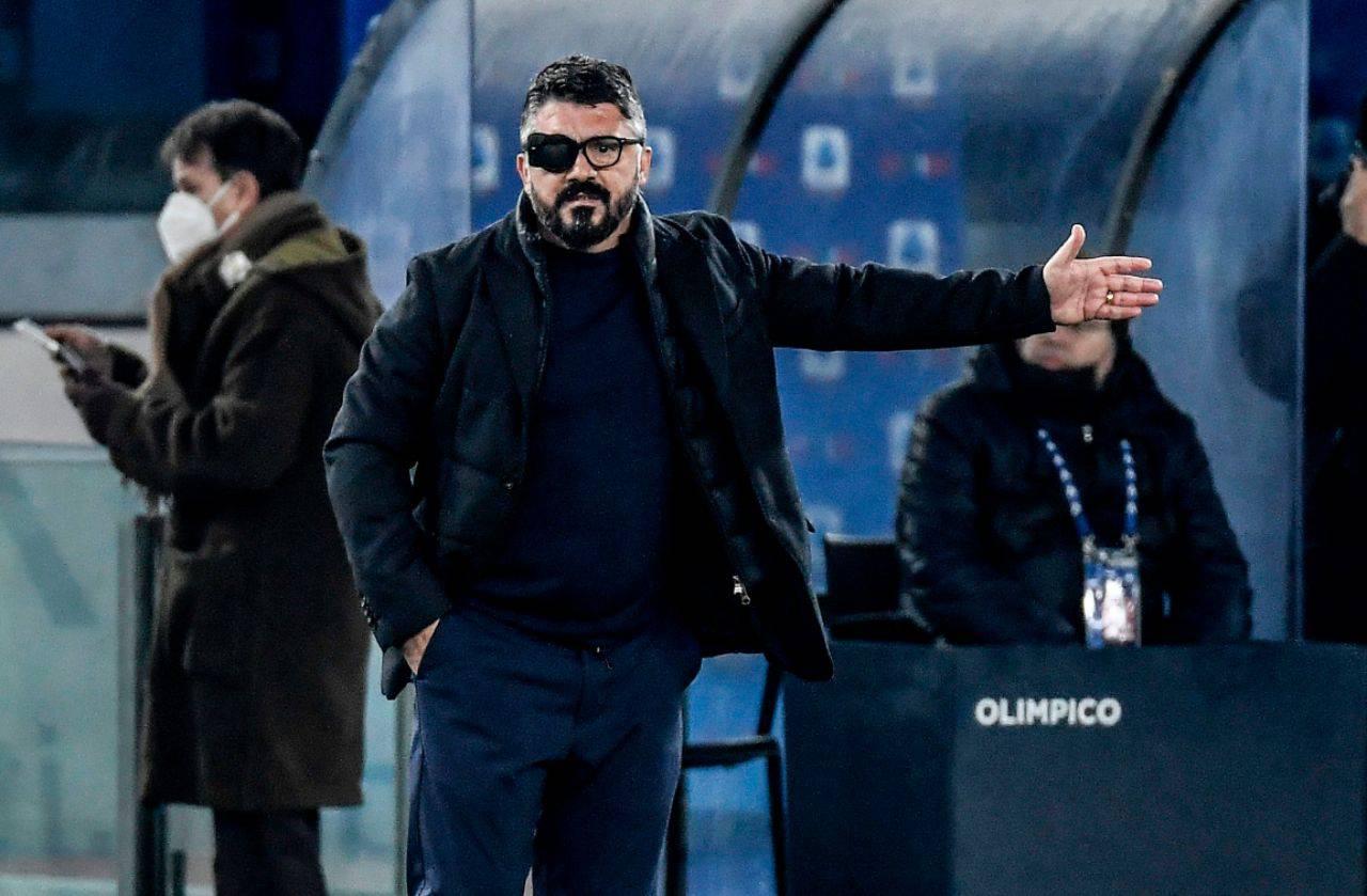 Napoli Gattuso calciomercato