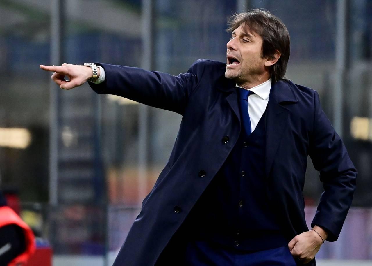 Benevento-Inter, Conte in conferenza | Le parole su Dzeko-Sanchez