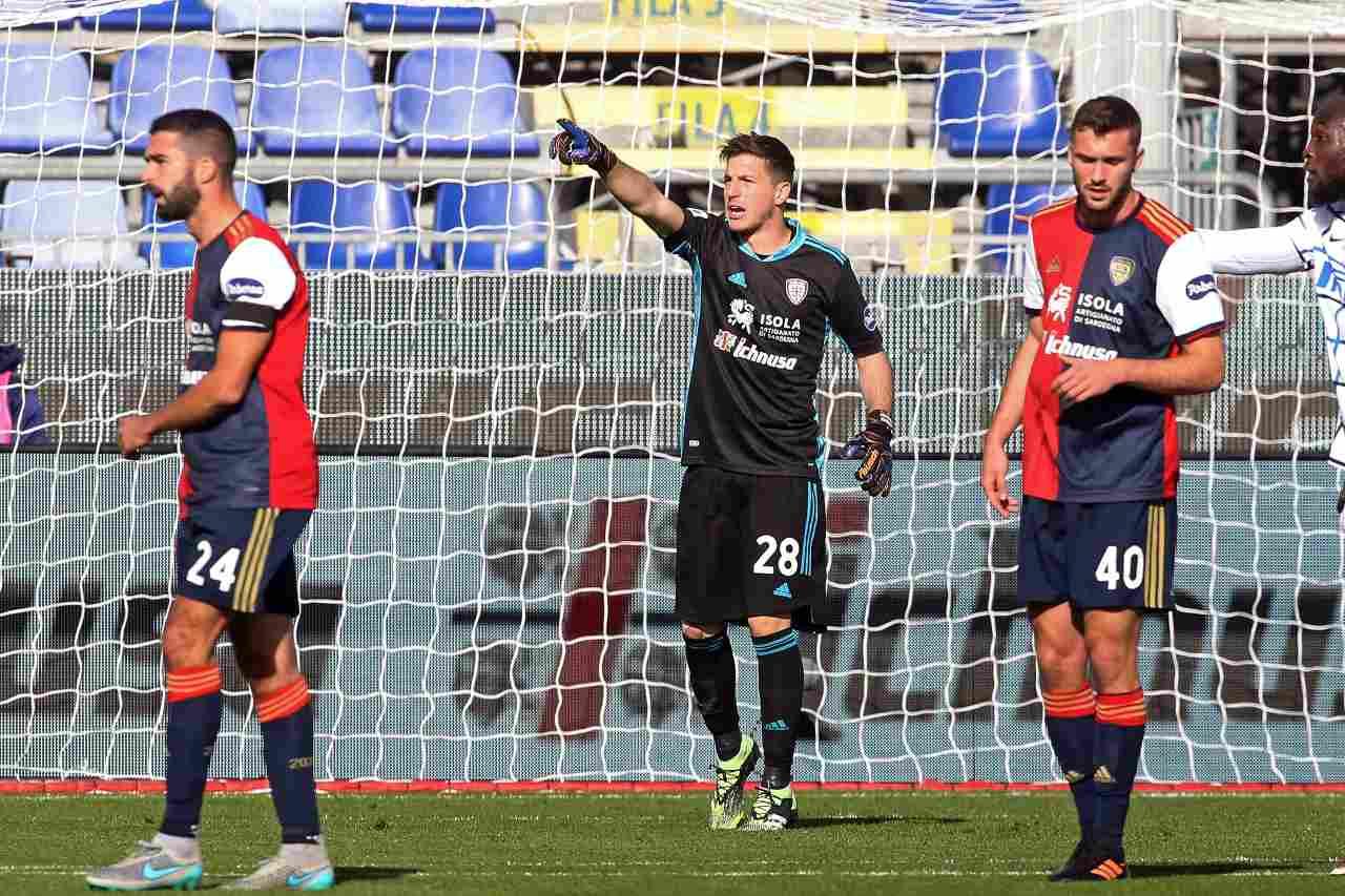 Calciomercato Inter, Cragno come erede di Handanovic