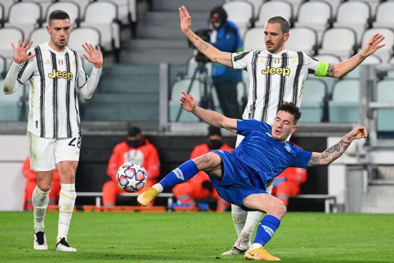 Juventus, emergenza in difesa | Da Demiral a Chiellini: le soluzioni di Pirlo