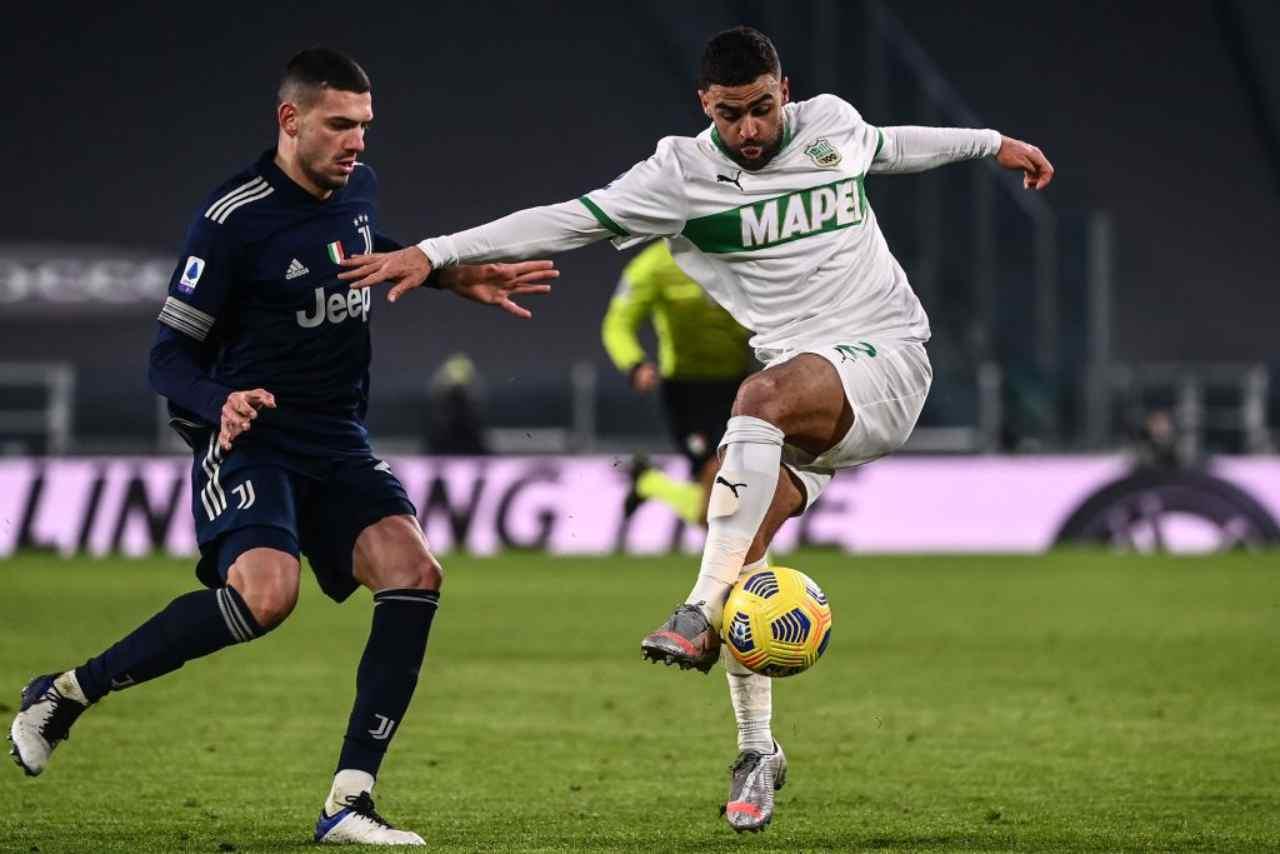 Juventus Milan rinnovo Bernardeschi Romagnoli Demiral