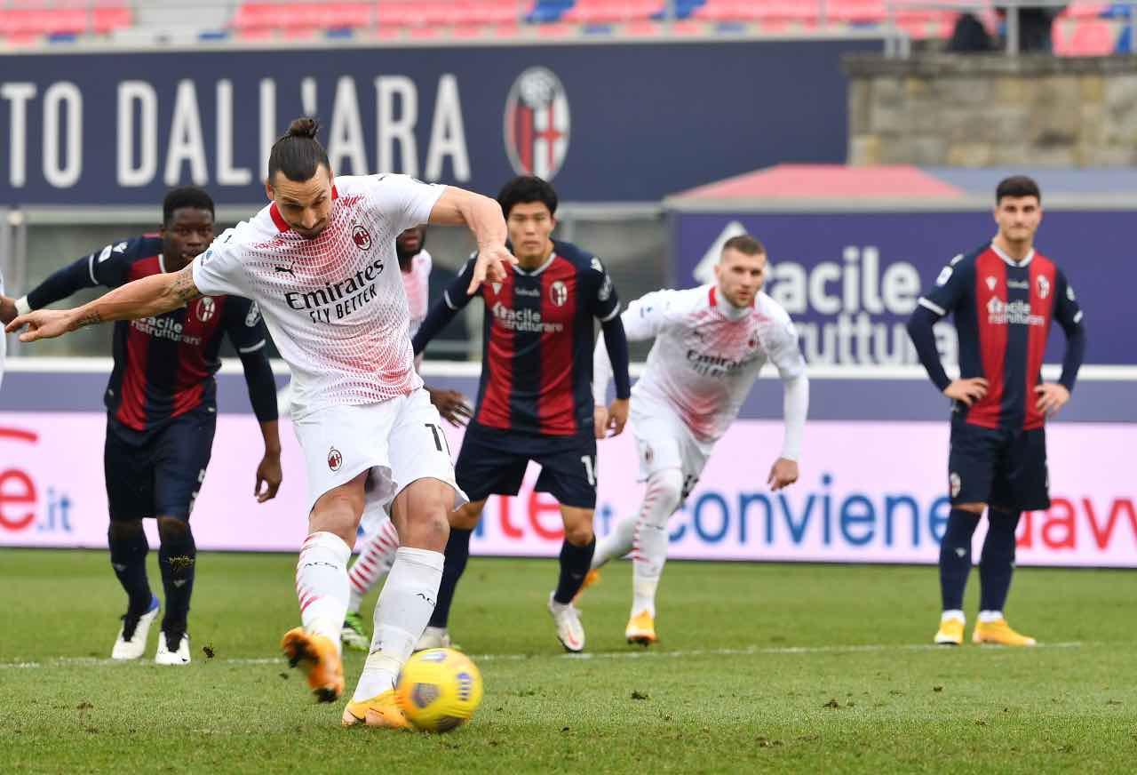 Bologna Milan 1-2