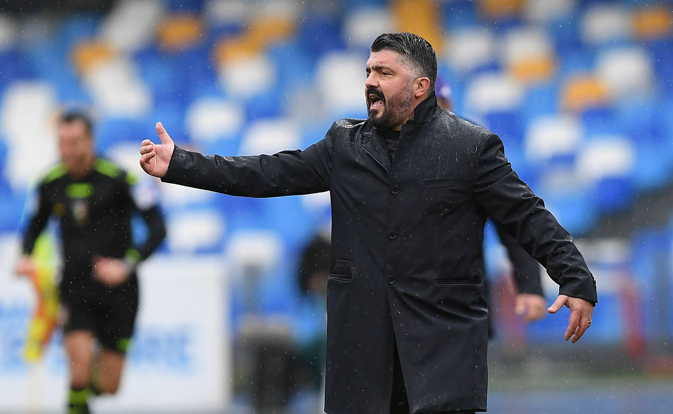 "Juventus-Napoli, Gattuso: ""Partita trappola, bianconeri non in crisi"""