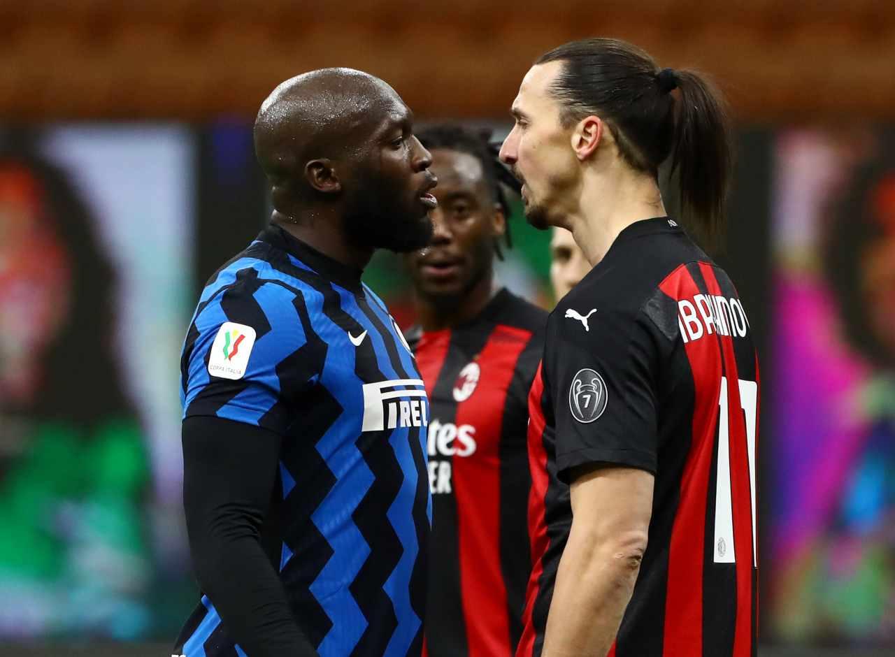 Pirlo sullo scontro Ibrahimovic-Lukaku
