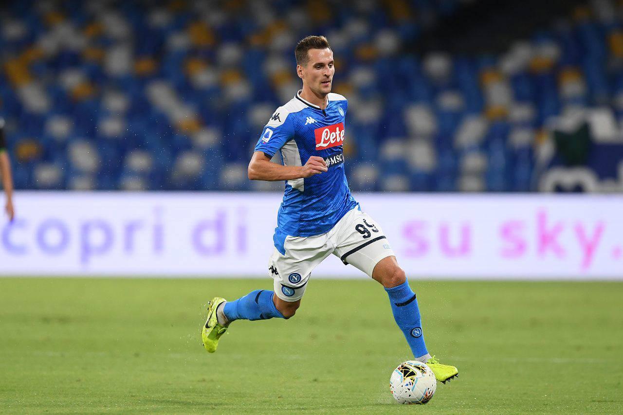 Arkadiusz Milik Napoli Juventus Inter