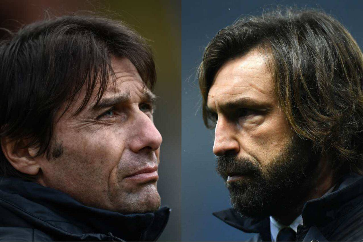 Inter-Juventus, Pirlo sfida Conte | Accuse ed errori imputati finora ai due