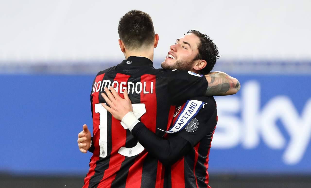 """Milan-Inter, che attacco a Romagnoli   """"Sopravvalutato e incompiuto"""""""