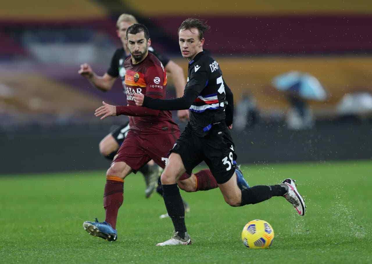 Juventus Damsgaard Sampdoria Dragusin Inter