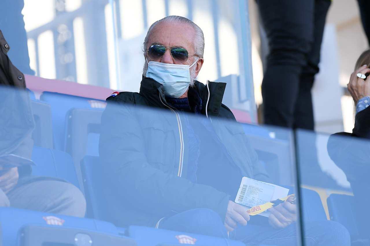 Calciomercato Napoli, De Laurentiis furioso | Le dichiarazioni su Giuntoli