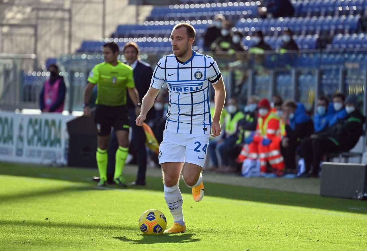 Calciomercato Inter, Rossi svela il retroscena su Eriksen
