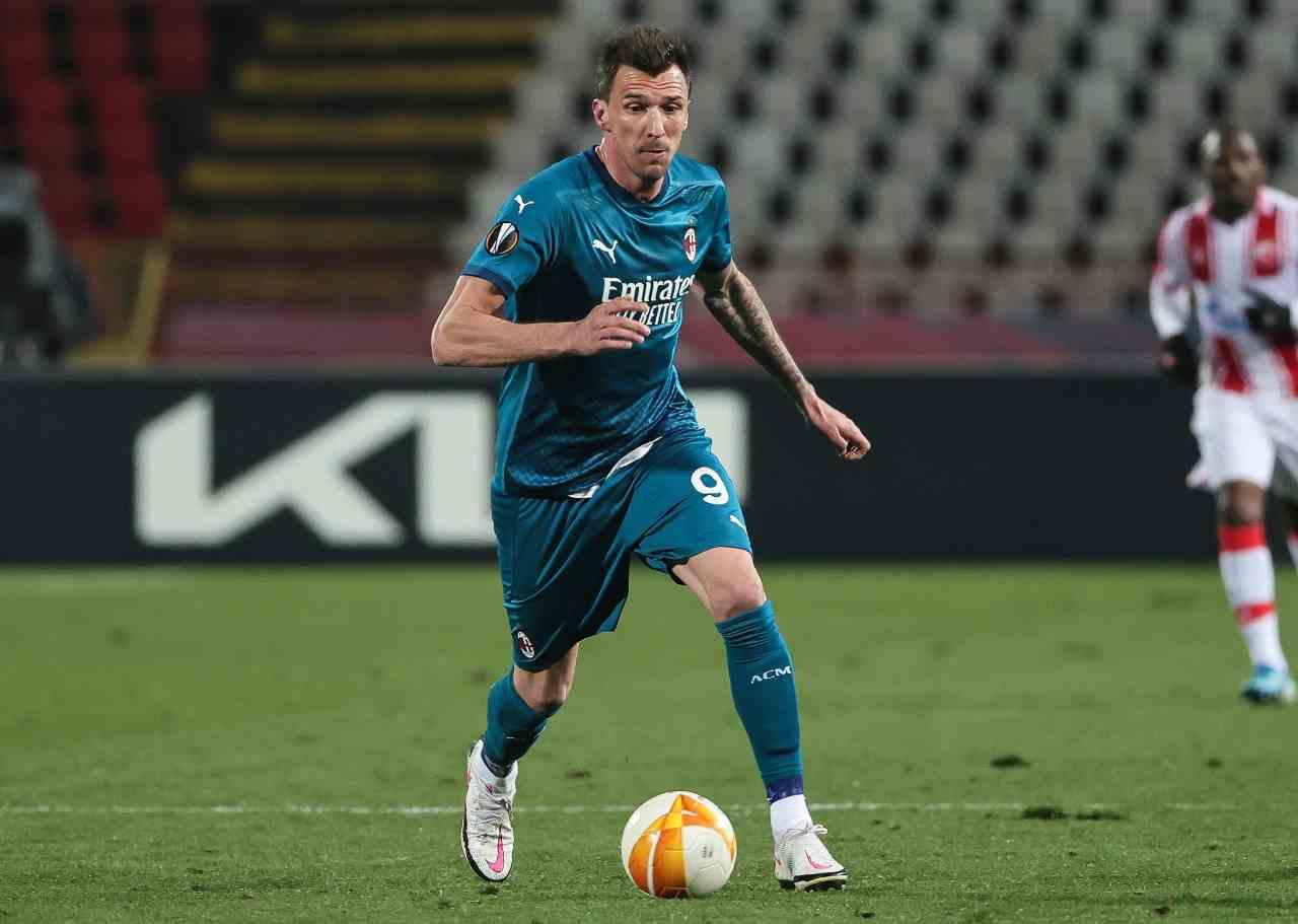 Calciomercato Milan, addio Mandzukic | Suggestione in Serie A