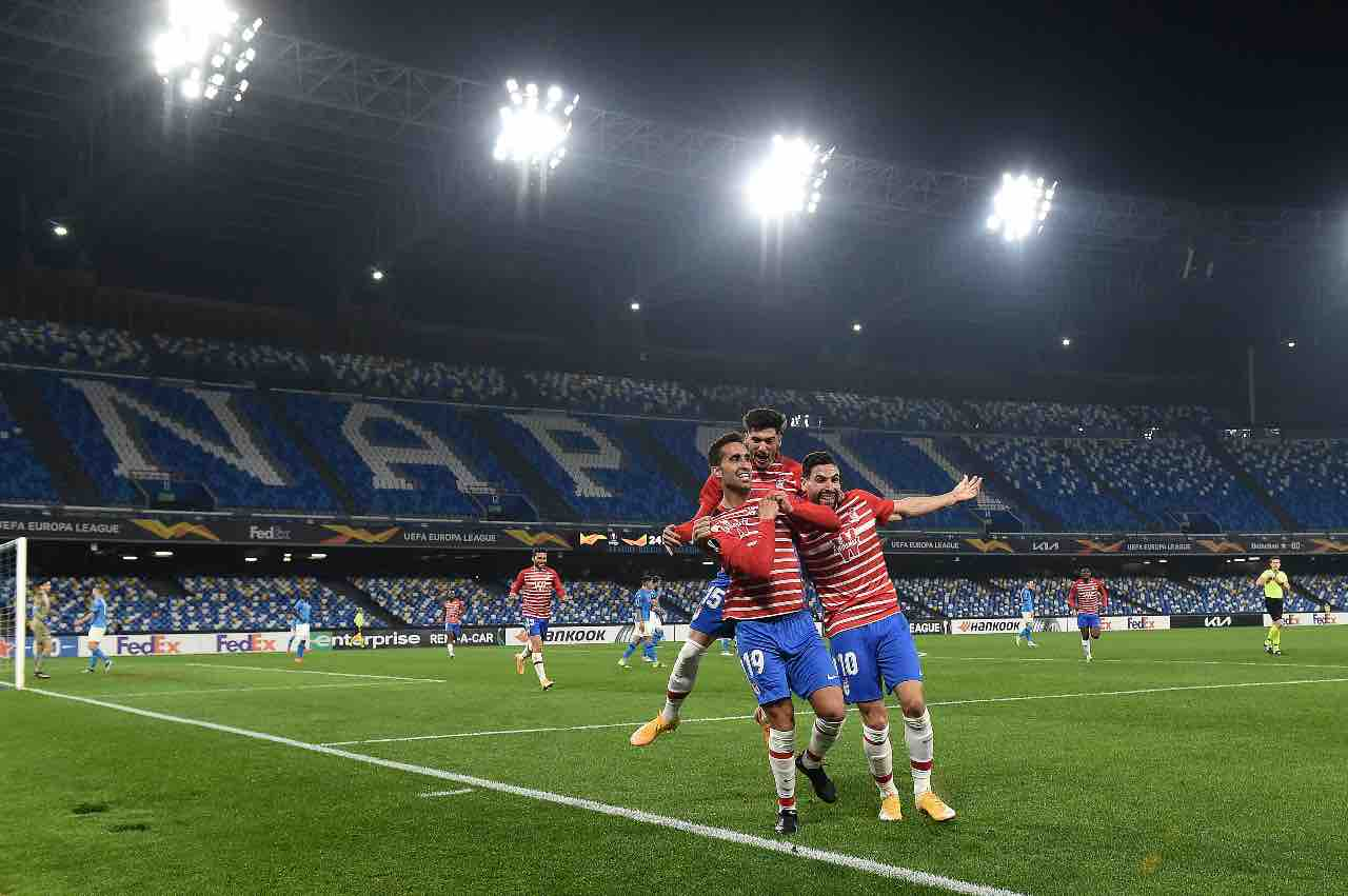 Napoli Granada Europa League