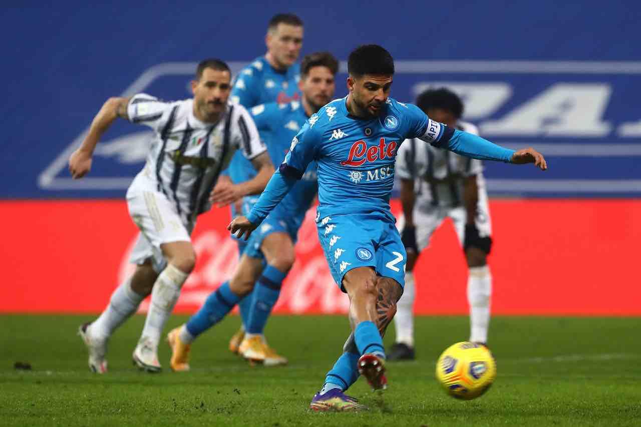 Napoli Juventus Insigne