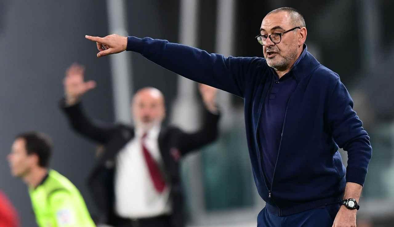 Calciomercato Milan e Roma, idea Sarri | C'è una condizione