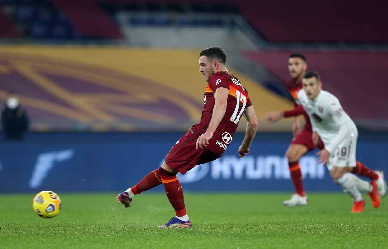 Roma Napoli Veretout Zielinski Juventus